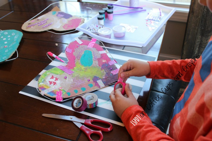 process art project for kids