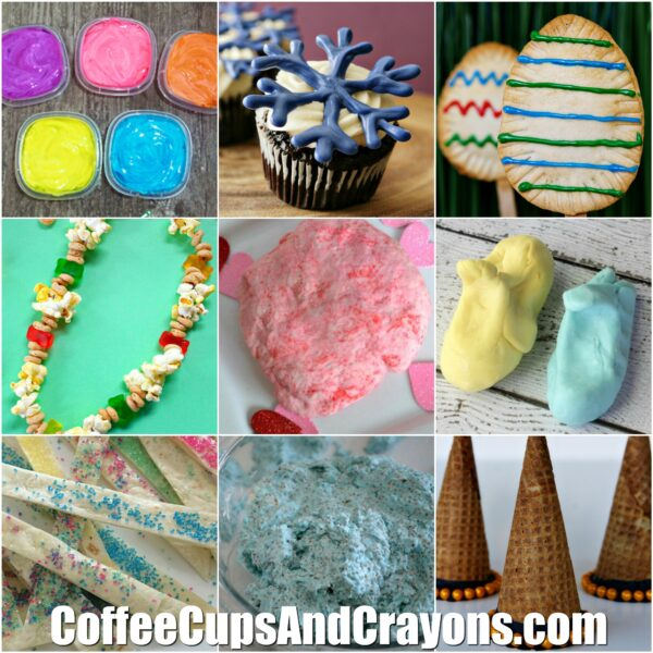 20 Edible Activities For Kids To Do Coffee Cups And Crayons