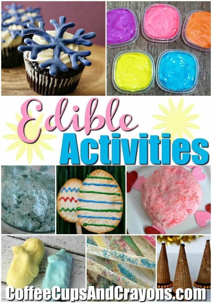 20 Edible Activities for Kids!