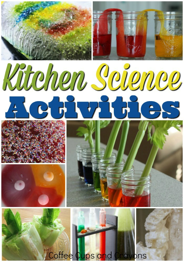 Super fun kitchen science activities! easy to set up and fun to do! #ktichenscience #scienceexperiments #scienceforkids