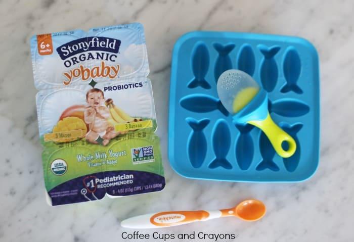 Yogurt Popsicles for Babies