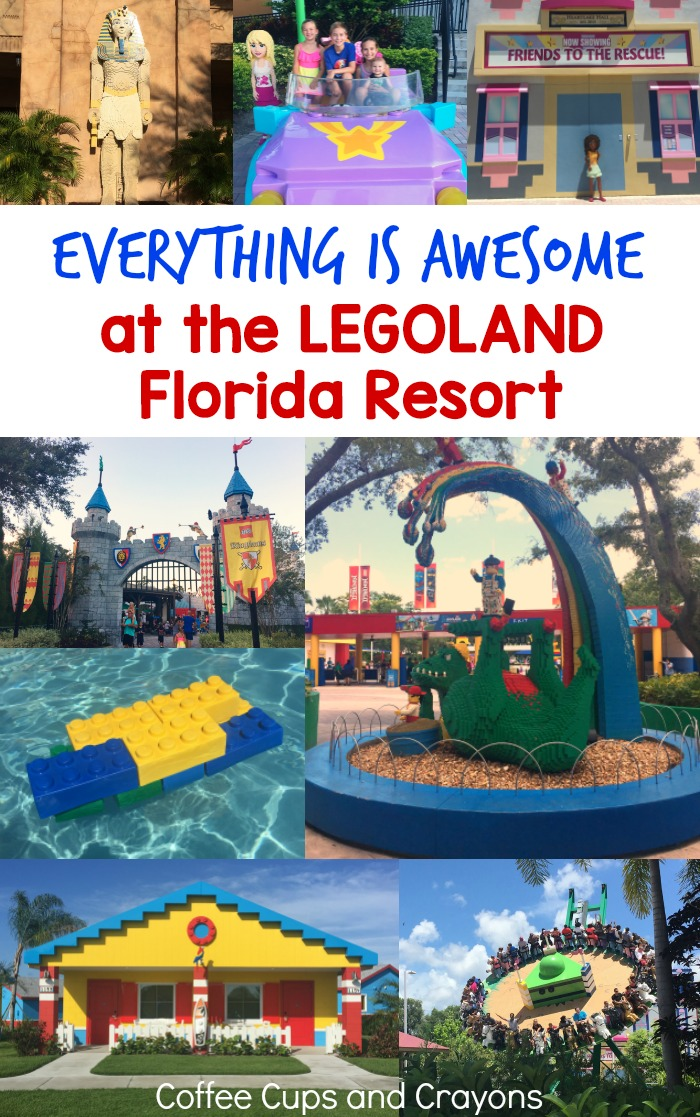 Plan a trip to the LEGOLAND Florida Resort! It's perfect for kids ages 2-12!