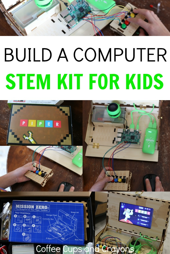 Super Cool Build a Computer Kit for Kids! Hands-on STEM learning that is totally FUN!