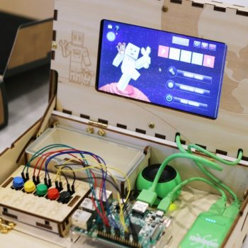 Super cool STEM learning with a build a computer kit!