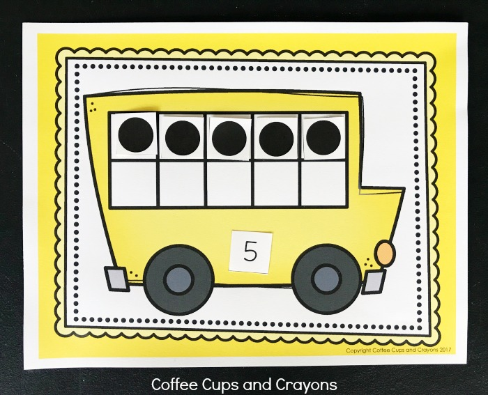 graphic regarding Bus Printable named Printable Higher education Bus 10 Body Recreation Espresso Cups and