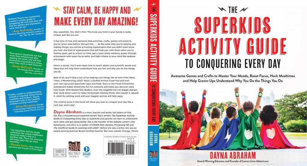 The SuperKids Activity Guide Bestselling Book!