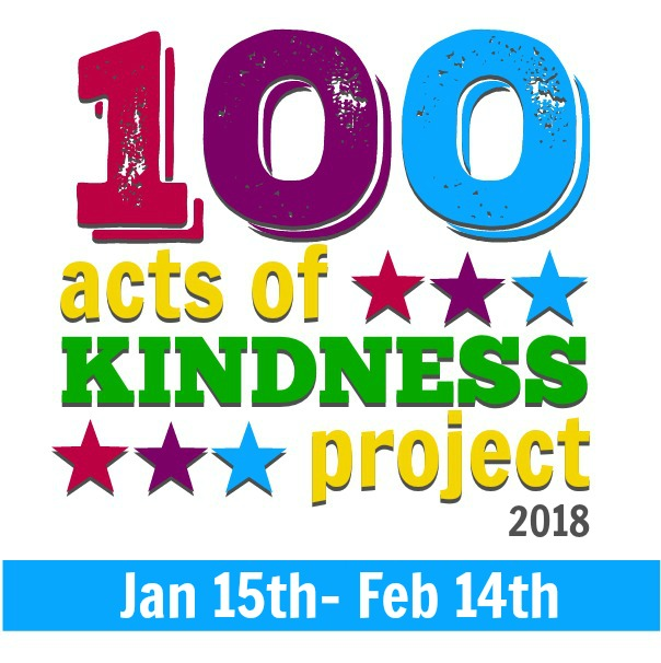 Join the 2018 100 Acts of Kindness Project!