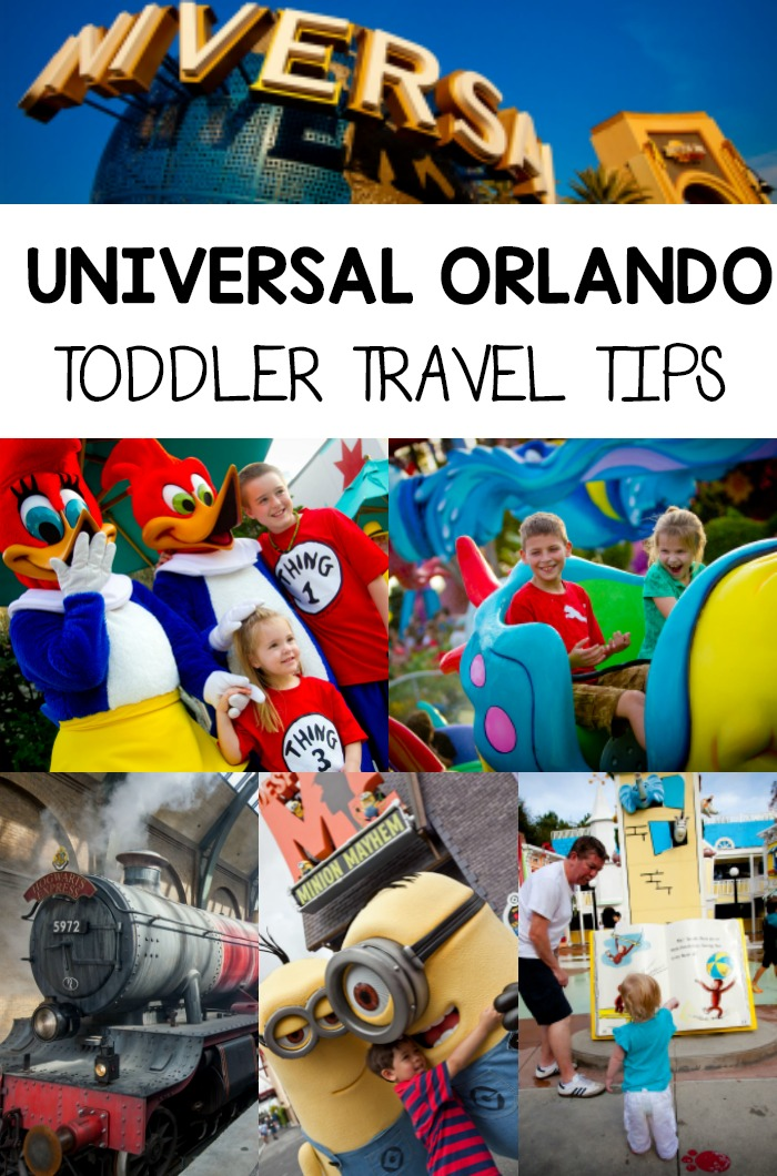 Tips for Traveling with Toddlers to Universal Orlando Resort in Florida!