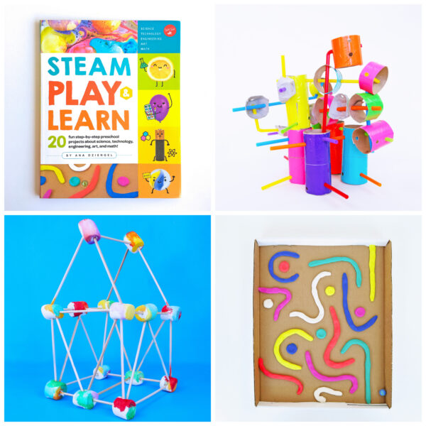 STEAM Play and Learn projects for preschool!