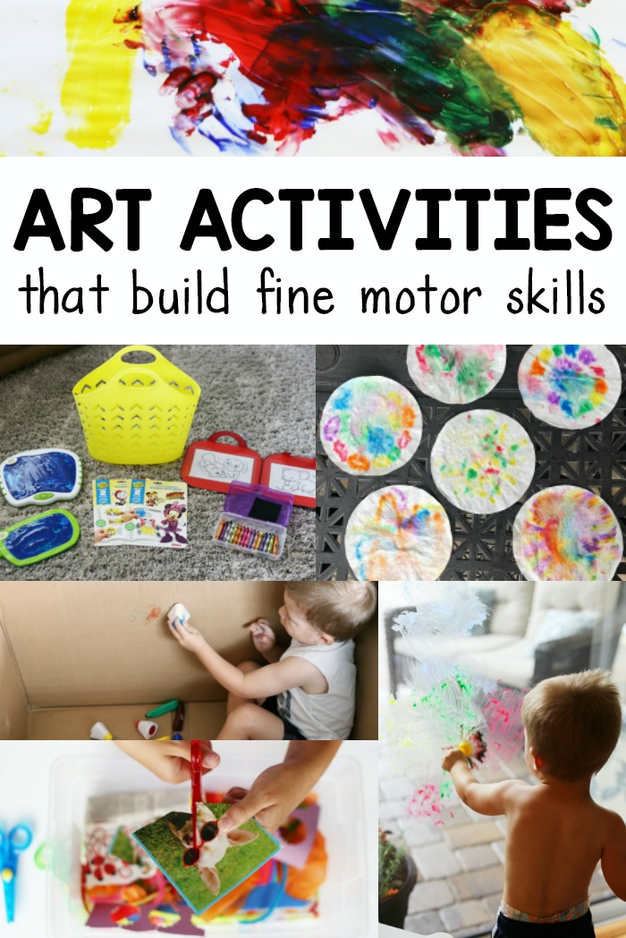 Toddler Art Activities That Build Fine Motor Skills Coffee Cups