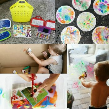 Fun toddler art activities that build fine motor skills!