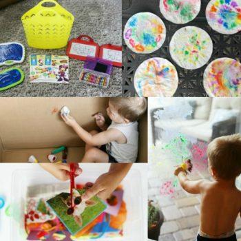 Toddler Art Activities That Build Fine Motor Skills