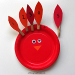 Clothespin Turkey Math Games
