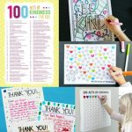 100 Acts of Kindness Printables