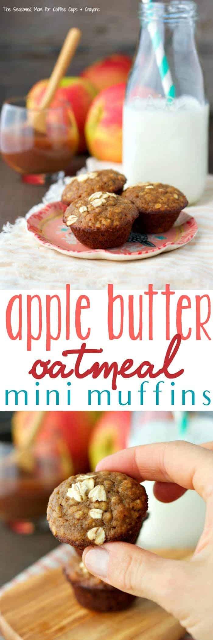 Apple Butter Oatmeal Muffins